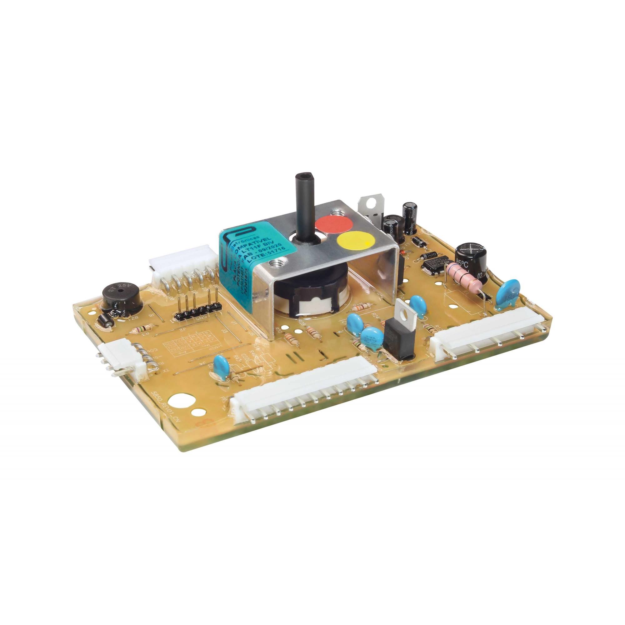 Placa eletrônicacompatível lavadora Electrolux LT11F
