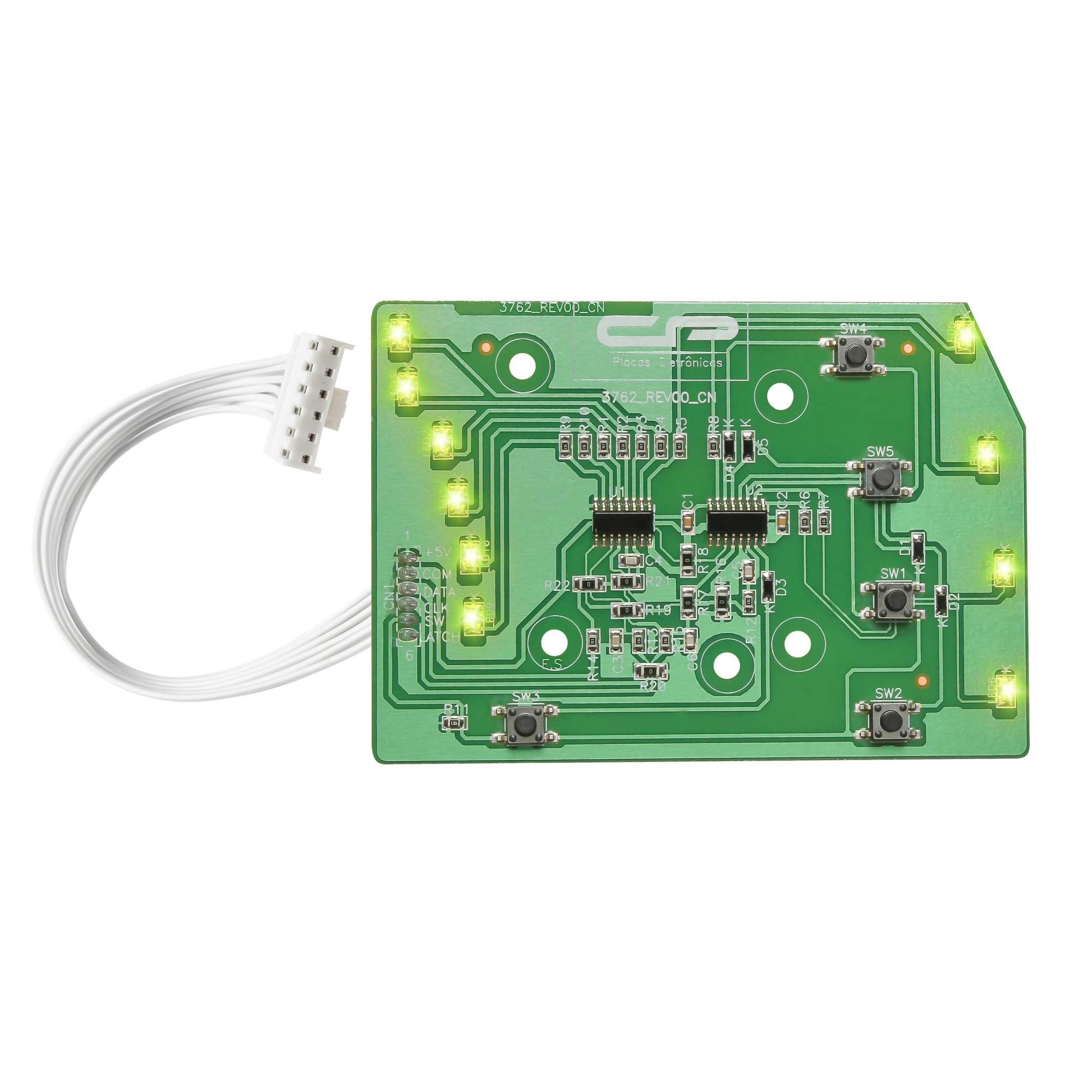 Placa Interface compatível Lavadora Electrolux 1 Versão