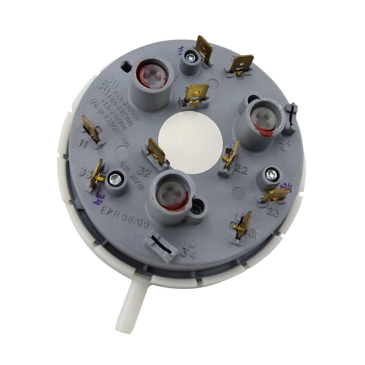 Pressostato controle de nivel Compatível lavadora Brastemp