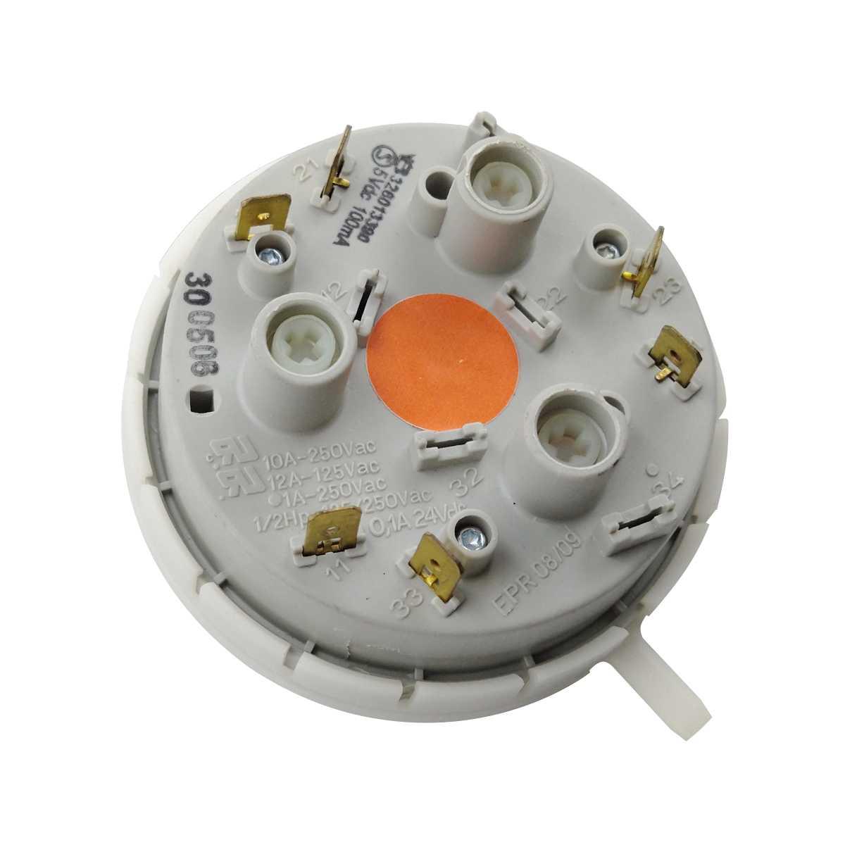 Pressostato controle de nivel Lavadora Brastemp 3 niveis BWQ22D