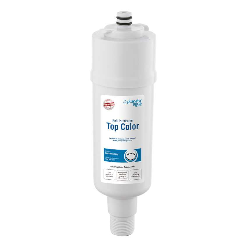 Refil Filtro compatível Purificador de Água Colormaq