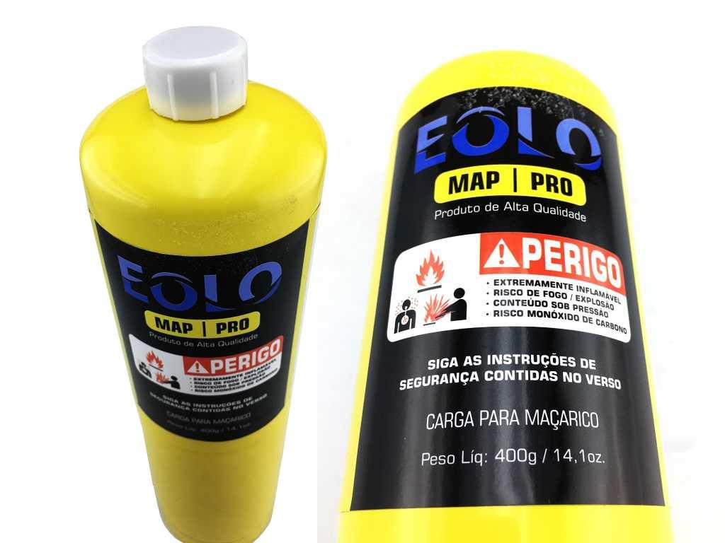 Refil gás para solda MAPP PRO Cilindro 400gr
