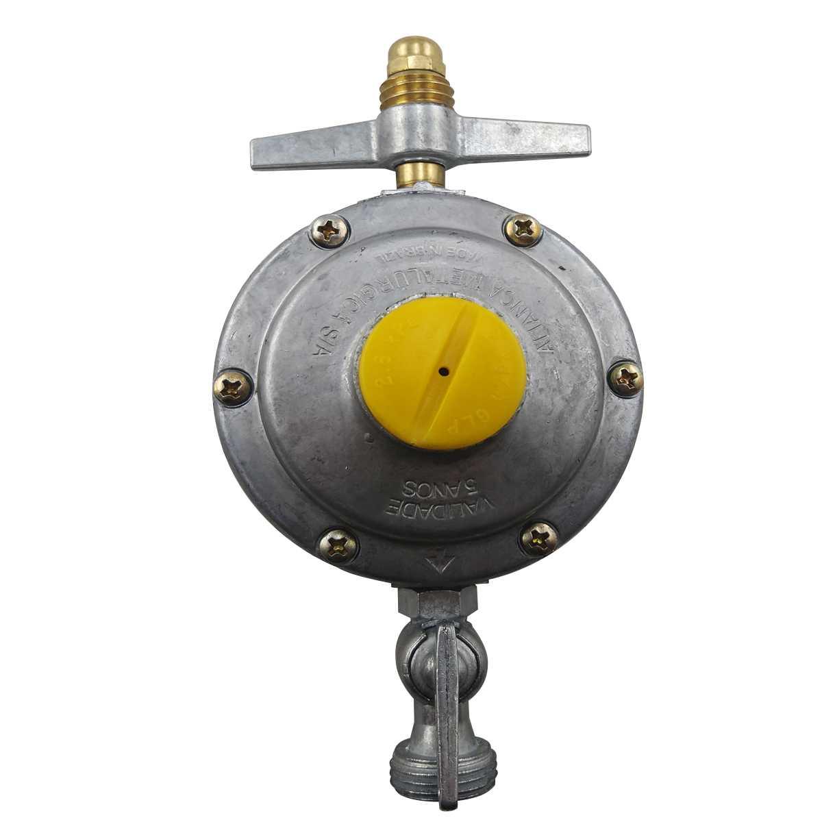 Regulador de gás doméstico para flexivel