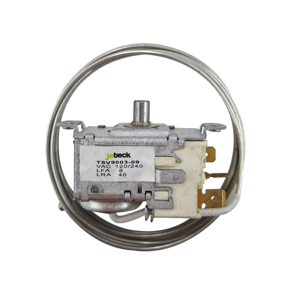 Termostato geladeira Electrolux TSV9003-09 DC38, DC46, DC48, DCW50, DC49A, DCW49, DC50X, DC47A, DC51, DC50, DC51X