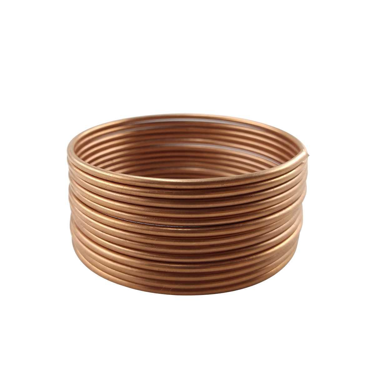"""Tubo Capilar de cobre 0.064"""" x 3 metros"""