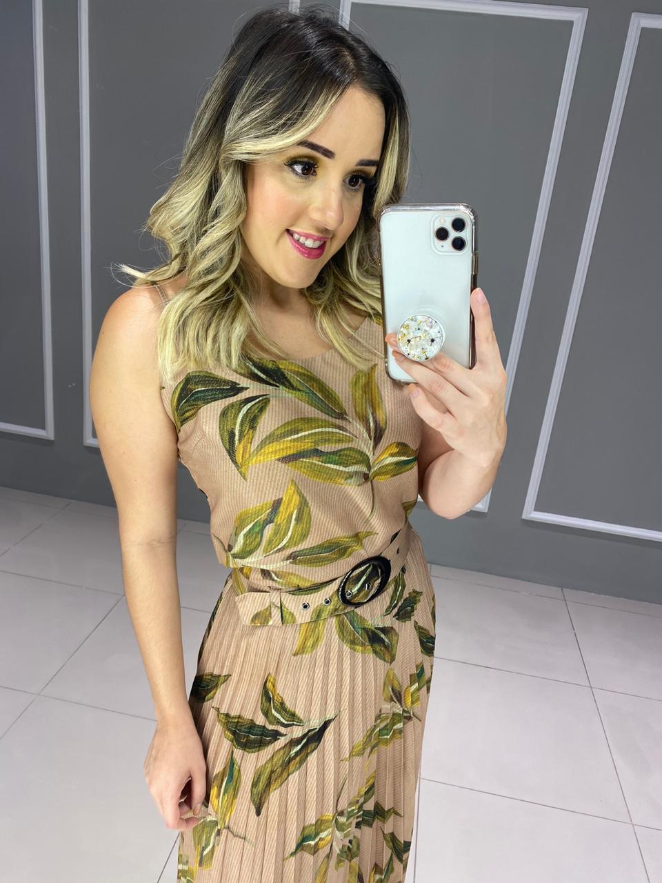 BLUSA ALÇA LINHO  - ITEM 3