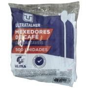 COLHER MEXEDOR P/ CAFÉ BRANCA C/500 (ULTRA)