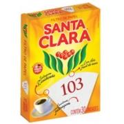 FILTRO CAFÉ 103 C/ 30UND (SANTA CLARA)