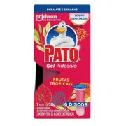 GEL ADESIVO REFIL C/06 38G (FRUTAS) - PATO