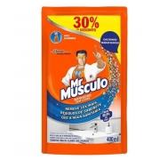LIMPADOR DE BANHEIRO REFIL 400ML (MR MUSCULO)