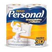 PAPEL HIGIENICO ROLINHO FL SIMPLES 4X30M NEUTRO (PERSONAL)