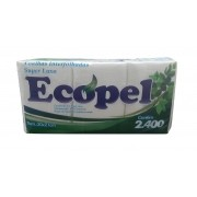 PAPEL TOALHA INTERFOLHADO ECOPEL C/2400 FL 20X21 (PROSPACK)