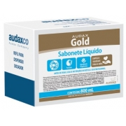 REFIL SABONETE LIQUIDO 800ML PESSEGO (AUDAX)