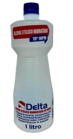 ALCOOL LIQUIDO 70 INPM 1L (DELTA)