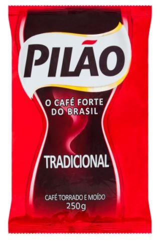 CAFÉ TRADICIONAL 250G (PILÃO)