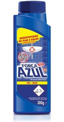 DESENTUPIDOR FORCA AZUL PO  300G (BOMBRIL)