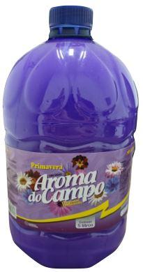 DESINFETANTE 5L (PRIMAVERA) - AROMA DO CAMPO