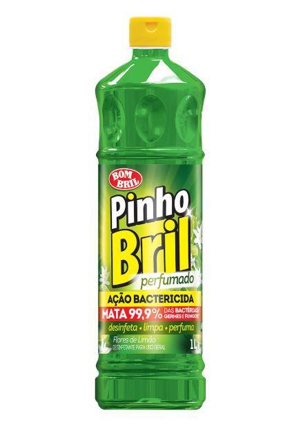 DESINFETANTE PINHO BRIL 500ML (FLORES DE LIMÃO) - BOM BRIL