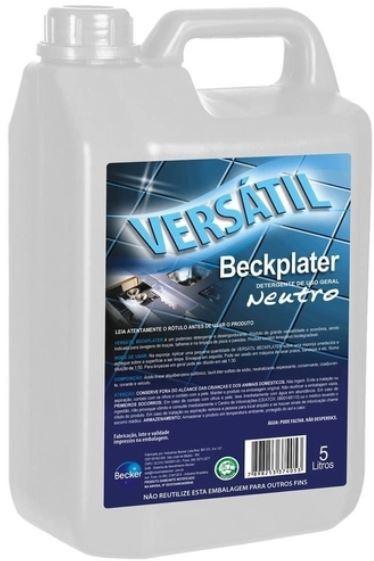 DETERGENTE NEUTRO CONCENTRADO VERSATIL BECKPLATER 5L (BECKER)