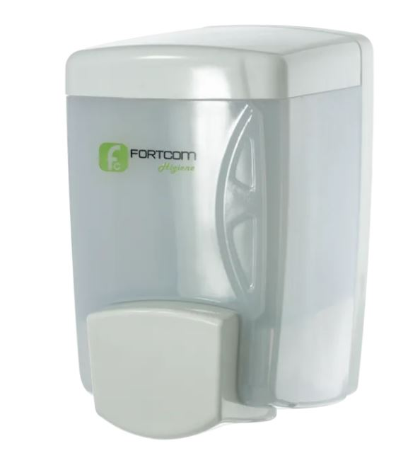 DISPENSER SABONETEIRA C/ RESERVATORIO 400ML LISC400 (FORTCOM)