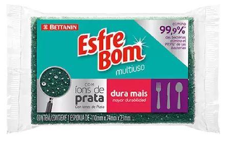 ESPONJA COM IONS DE PRATA ESFREBOM UN (BETTANIN)