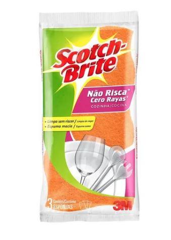 ESPONJA SCOTCH BRITE NAO RISCA UNIT (3M)
