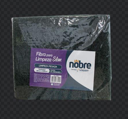 FIBRA (LIMPEZA PESADA) 98x229mm  SLIM PCT c/10 unid  (NOBRE)