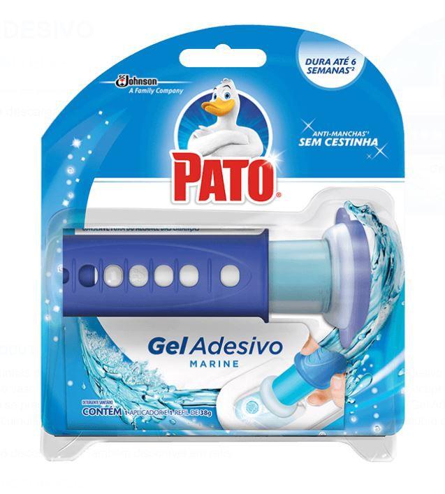 GEL ADESIVO C/ APLICADOR 06 DISCOS (MARINE) - PATO