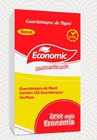 GUARDANAPO DE PAPEL 14X14 PCT C/ 120 FLS ECONOMIC (RESERVA)