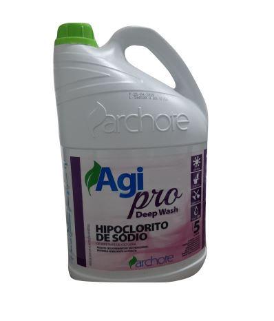 HIPOCLORITO DE SÓDIO 5%  CONCENTRADO 5L (1:20) - (ARCHOTE)