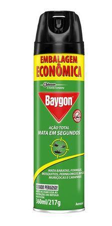 INSETICIDA AEROSOL ACAO TOTAL (BAYGON)