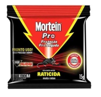 INSETICIDA ISCAS MATA RATOS 15G (MORTEIN )