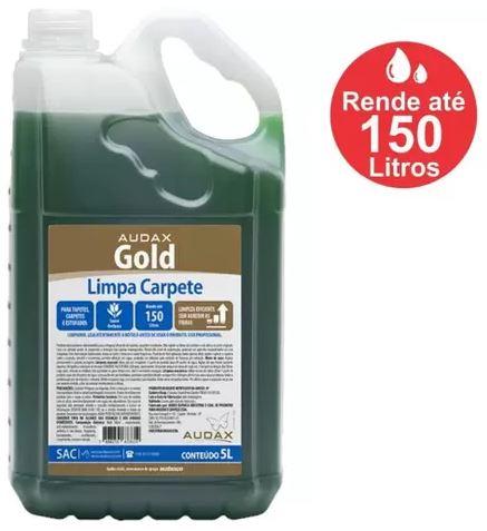 LIMPA CARPETE GOLD 5L (AUDAX)