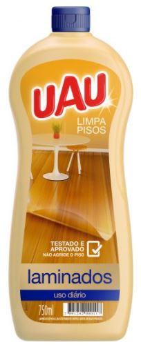 LIMPA PISOS LAMINADO 750ML (UAU)