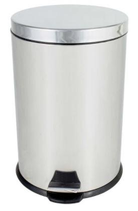 LIXEIRA INOX C/PEDAL 20L SP93720 (SUPERPRO)