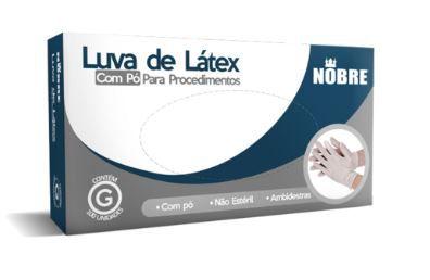 LUVA LATEX  COM PO PROTECAO CONTRA AGENTES QUIMICOS  (NOBRE)
