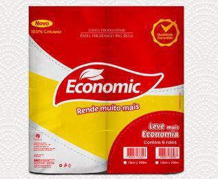PAPEL HIGIENICO BOBINA ECONOMIC CELULOSE 8X300 (RESERVA)