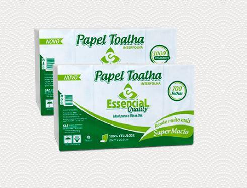 PAPEL TOALHA INTERFOLHADO QUALITY C/1000 FL 20X20,5 (RESERVA)
