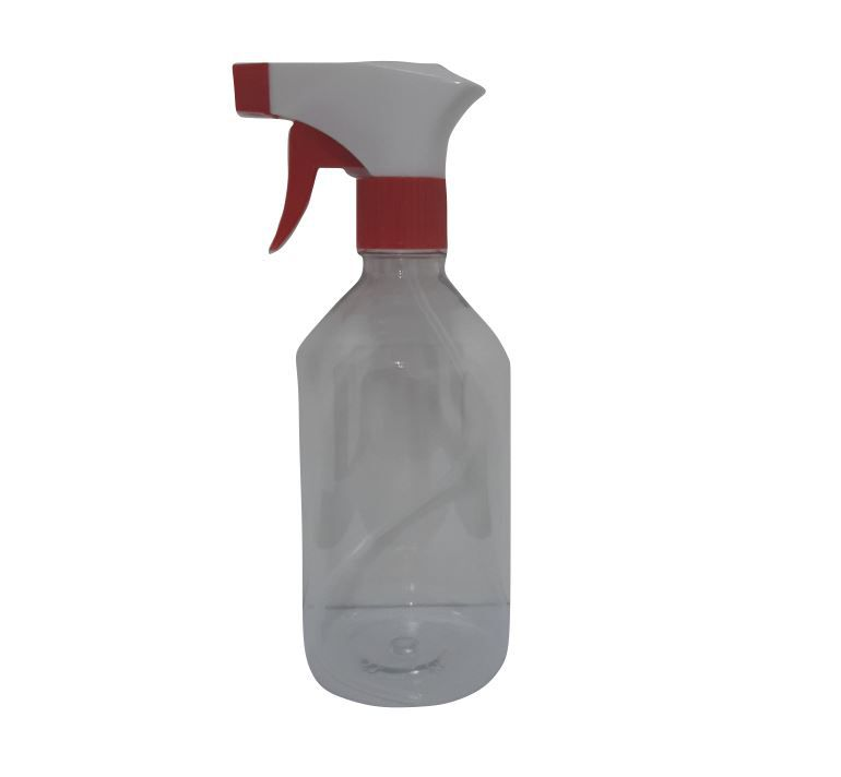 PULVERIZADOR PET 500ML TRANSPARENTE