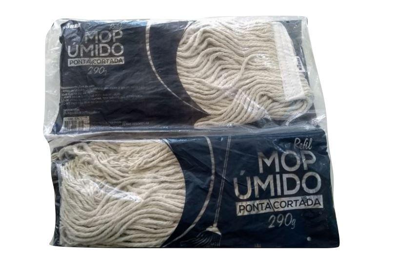 REFIL MOP UMIDO PONTA/CORTADA (NOBRE)