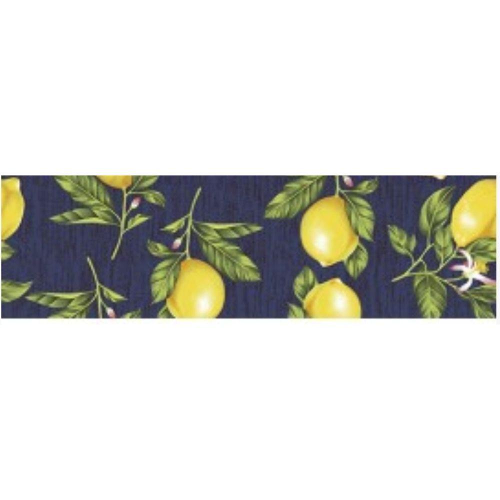 Kit Jogo Americano com Estampa Limão Siciliano + Guardanapos  - 4 pcs