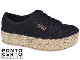 Sapato Casual Fem Preto 4232204 Beira Rio