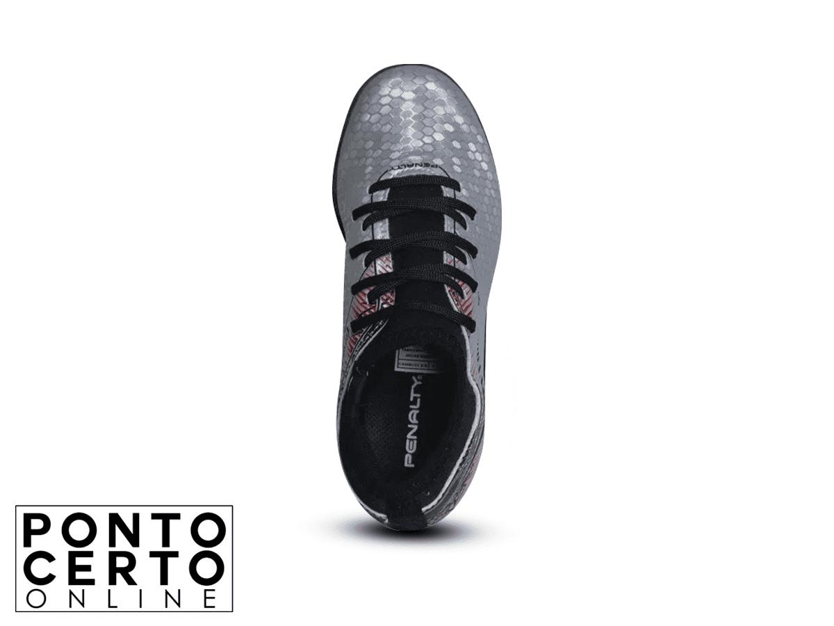 Calcado Futsal S11 Locker IX PR-PT Penalty