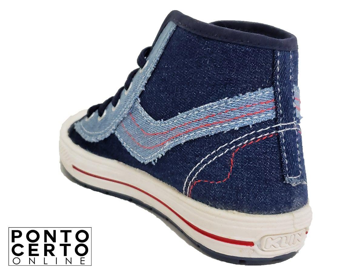 Coturno Infantil 472.033 Jeans/Marinho Klin