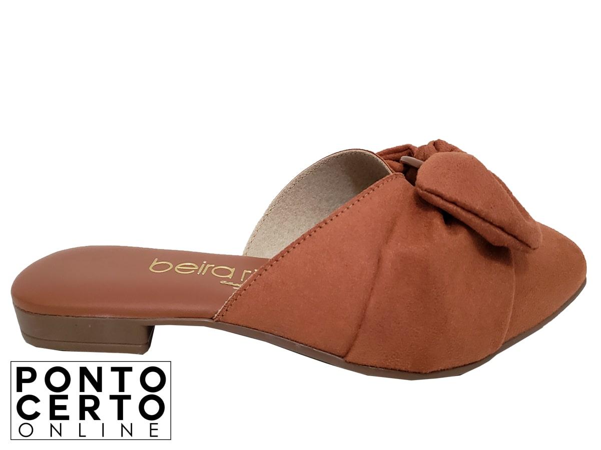Mule Fem 4134464 Caramelo Beira Rio