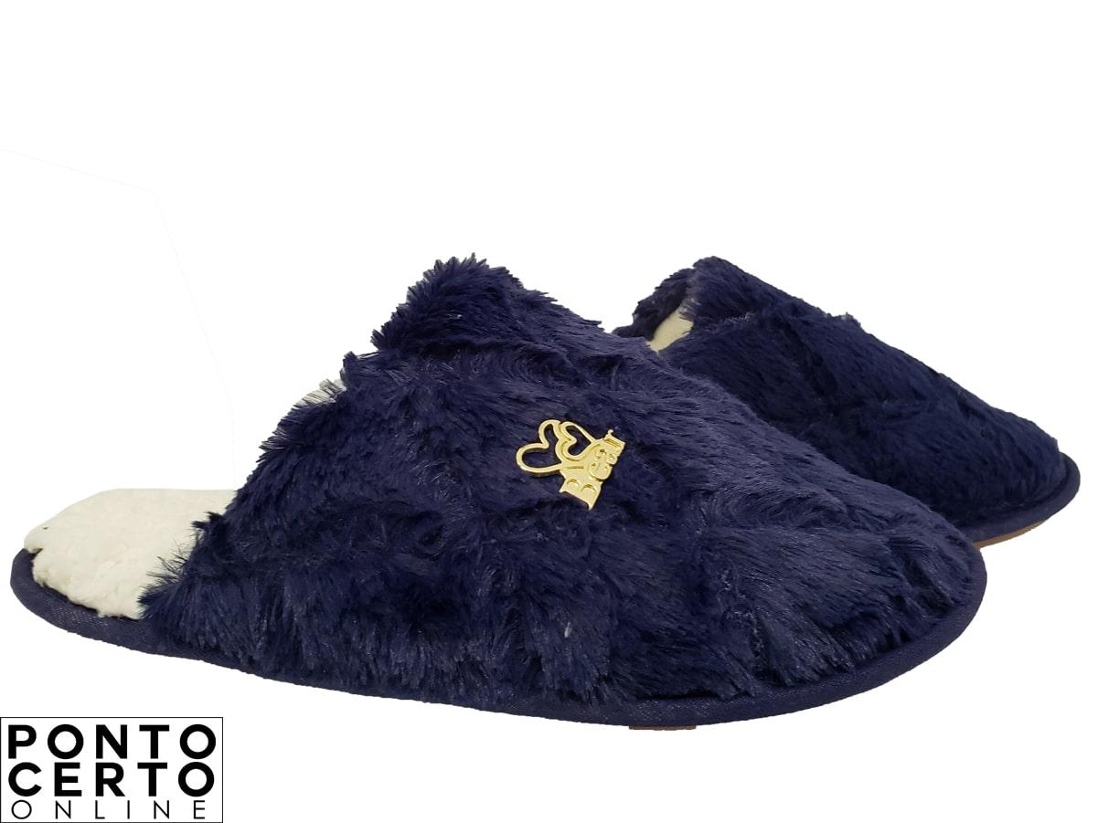 Pantufa Fem Pele Ref 552 Bear