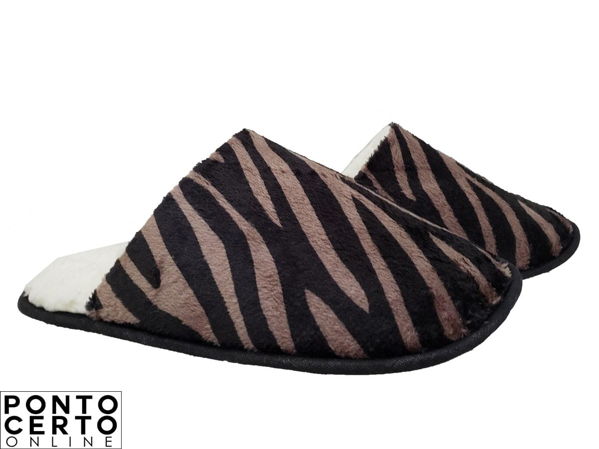 Pantufa Fem Ref Zebra 551 Bear
