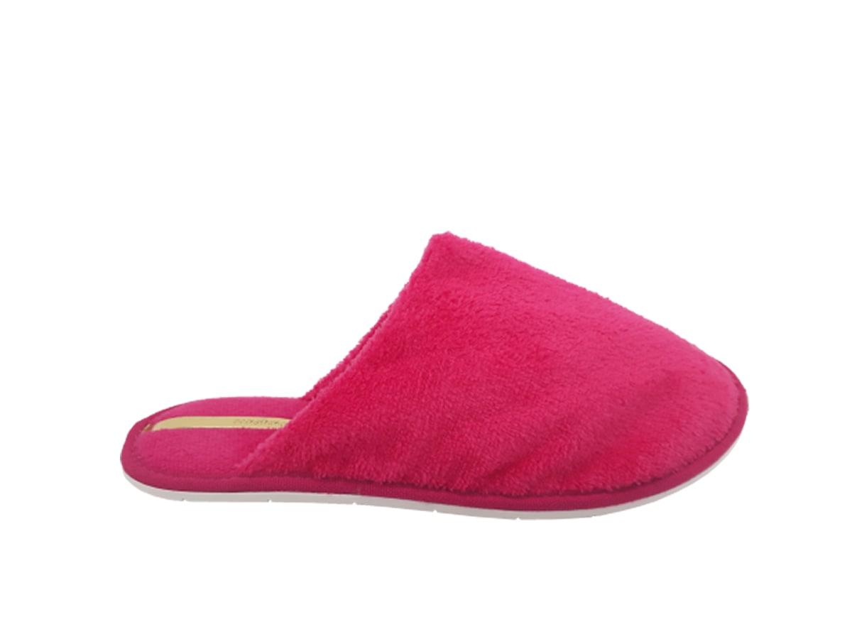 Pantufa Fem Moleca Vinho Pink 5427.100