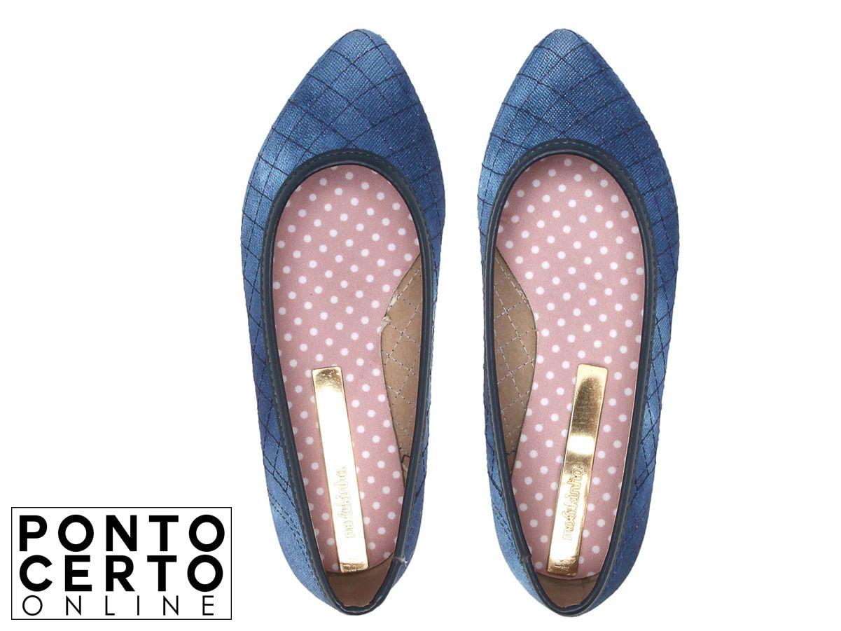 Sapatilha Jeans 2506 421 Molekinha
