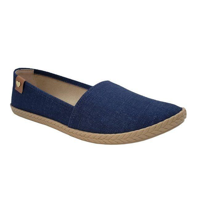 Sapatilha Jeans 5287 Fem Moleca